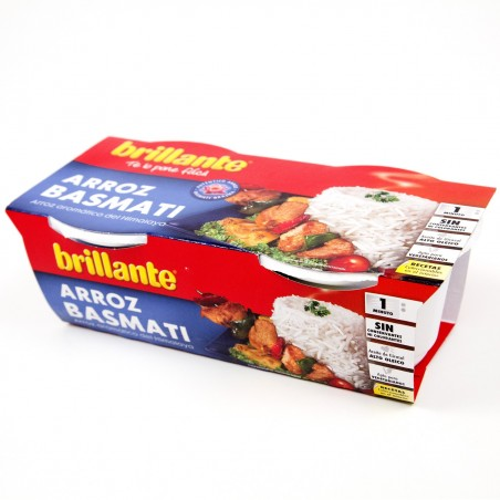ARROZ BRILLANTE BASMATI 2 VASITOS
