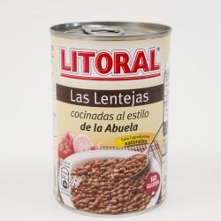LENTEJAS ESTOFADAS DE LA ABUELA, LITORAL