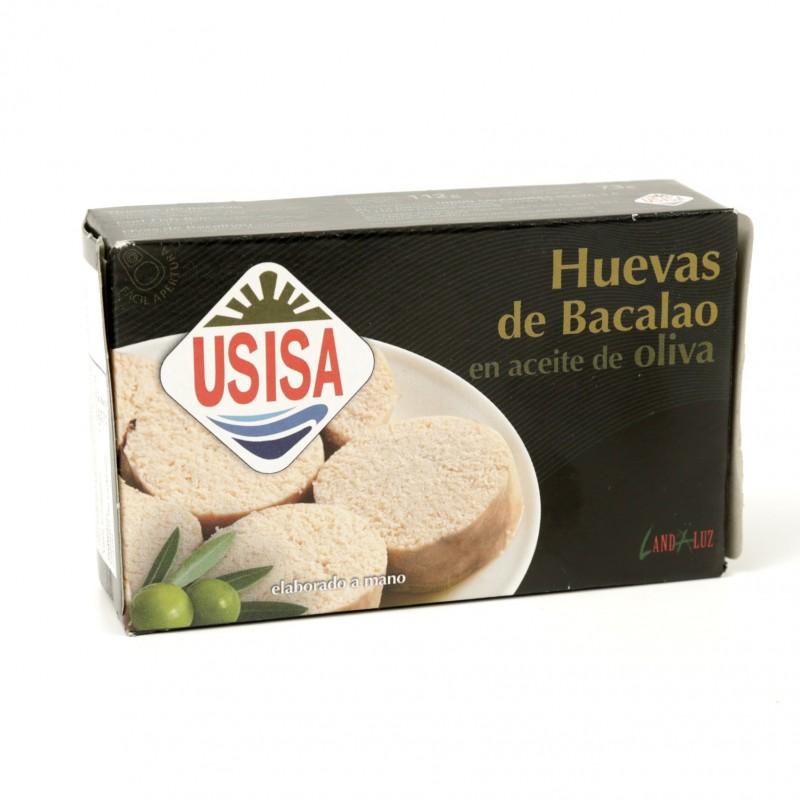 HUEVAS DE BACALAO EN ACEITE DE OLIVA, TEJERO USISA