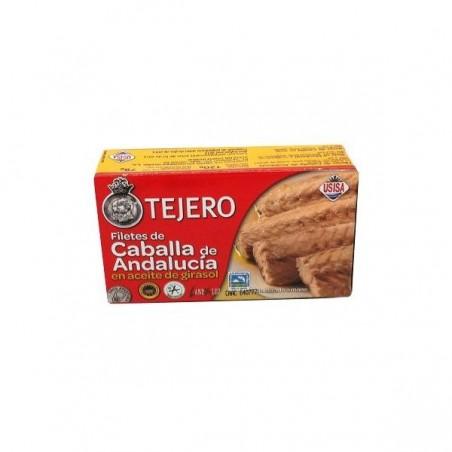 FILETES DE CABALLA DE ANDALUCIA ACEITE GIRASOL (TEJERO) 120 gr