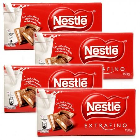 CHOCOLATE CON LECHE EXTRAFINO NESTLE 4UD.