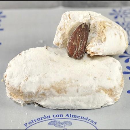 POLVORONES CON ALMENDRA CASEROS