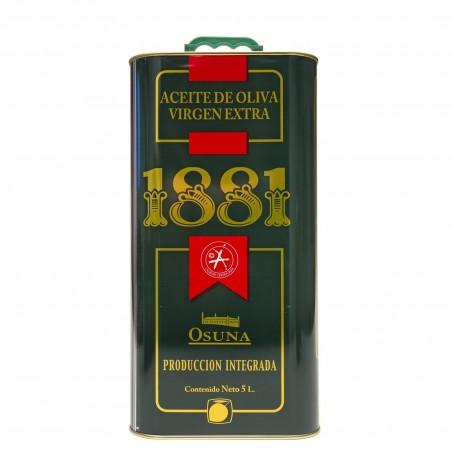 ACEITE DE OLIVA VIRGEN EXTRA 1881 (CAJA 3 LATA 5 LT)