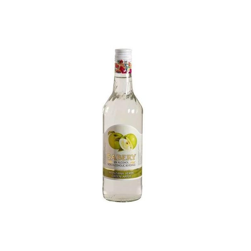 LICOR SIN ALCOHOL MANZANA VERDE SABERY