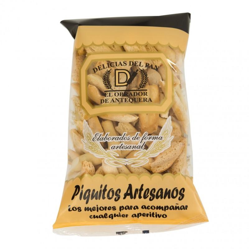 PIQUITOS ARTESANOS DELICIAS DE PAN ANTEQUERA PACK 30 UNIDADES