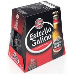 CERVEZA ESTRELLA GALICIA PACK 6x33CL