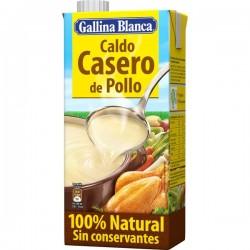 CALDO DE POLLO CASERO GALLINA BLANCA