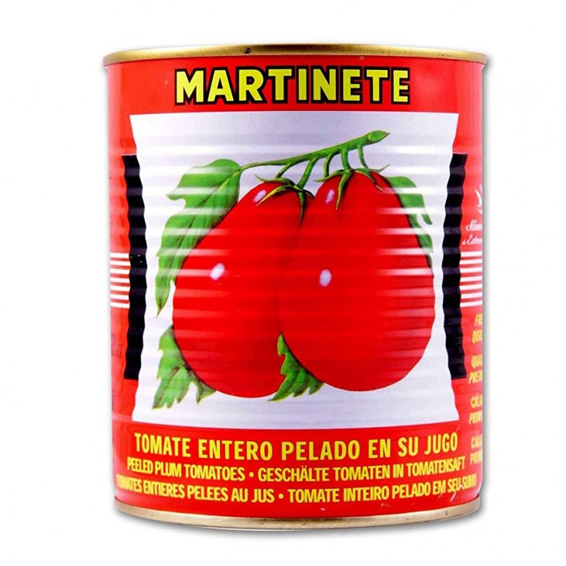 TOMATE ENTERO PELADO MARTINETE KILO
