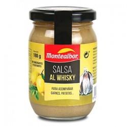 SALSA AL WHISKY MONTEALBOR 180 GRS