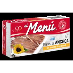 ANCHOAS EL MENÚ 10X45 GRS.
