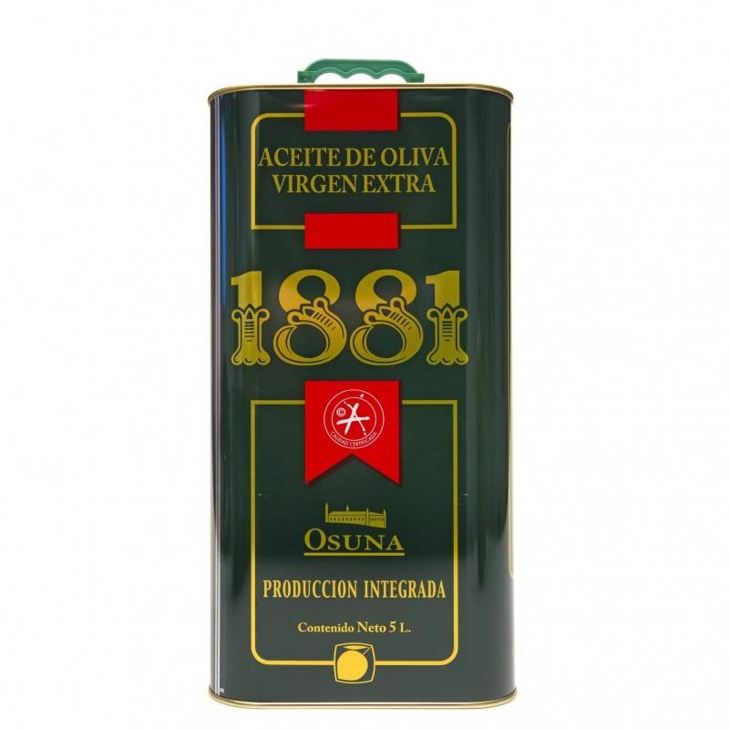 ACEITE DE OLIVA VIRGEN EXTRA 1881 (LATA 5 LT)