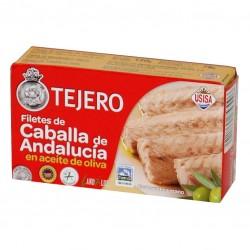 FILETES DE CABALLA DE ANDALUCIA ACEITE OLIVA (TEJERO) 120 gr