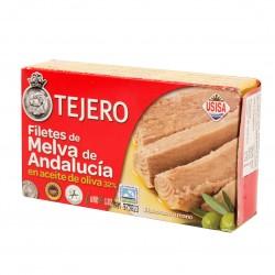 FILETES DE MELVA DE ANDALUCIA ACEITE OLIVA(TEJERO) 120 gr