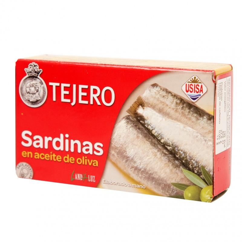 SARDINAS ACEITE OLIVA (TEJERO) 120 gr